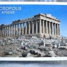 Acropolis Athens souvenir postcard booklet color pre-owned perfect 1515vf