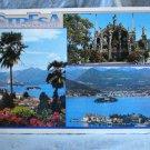 Stresa Lago Maggiore Italy souvenir postcard 3 scenes pre-owned unused 1521vf
