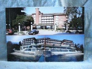 Grand Hotel Dino Lago Maggiore souvenir postcard pre-owned unused 1522vf