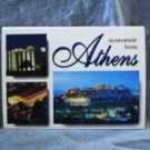 Athens souvenir accordian postcard booklet pre-owned unused 1523vf