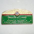 Lions Club Vancouver Renfrew Home of the Dome stud back pin 1541vf