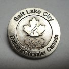 Salt Lake City Olympics collector pin Daimler Chrysler Canada sponsor 1543vf