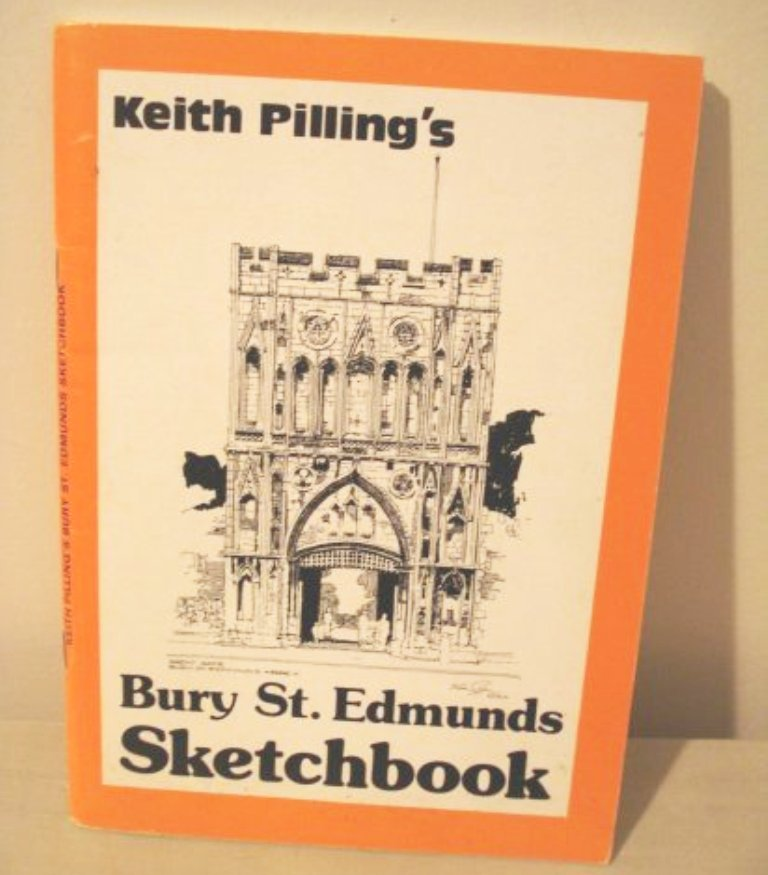 Keith Pilling's Bury St. Edmunds Sketchbook 1984 signed 1040vf