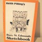 Keith Pilling's Bury St. Edmunds Sketchbook 1984 signed 1040vf