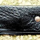 Men's Black Leather Billfold