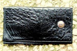 Men's Black Leather Billfold