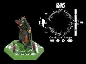 BS69 Gondorian Ranger - Rare