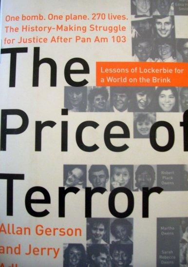 The Price Of Terror hardcover