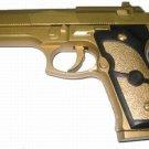 AK997 9mm Airsoft Pellet Gun - Gold