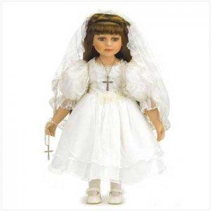 18 inch Communion Doll - Porc