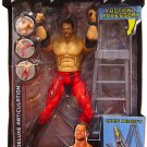 WWE Jakks Pacific DELUXE Aggression Series 7 Action Figure Chris Benoit + Action Accessory NEW