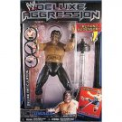 WWE Jakks Pacific Deluxe Aggression Series 12 UMAGA Action Figure with Barbell Launcher New
