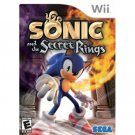 Sonic and the Secret Rings Nintendo Wii