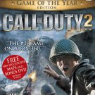 Call of Duty 2: Game of the Year Edition for Microsoft Xbox 360 NEW