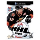 NHL Hockey 2003 Nintendo GameCube NEW