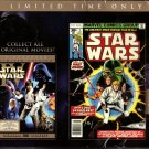 Star Wars Episode IV A New Hope plus Bonus Graphic Novel. NEW DVD
