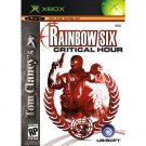 Tom Clancy's Rainbow Six Critical Hour Black Label XBOX NEW