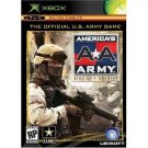 America's Army: Rise of a Soldier XBOX Black Label NEW