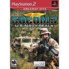 SOCOM 3: U.S. Navy SEALS Greatest Hits Playstation 2 NEW PS2 GAME