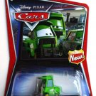 DISNEY PIXAR CARS Animated Movie 1:55 Bruiser Bukowski Walmart Exclusive Green Forklift NEW