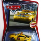 DISNEY PIXAR CARS Movie 1:55 Piston Cup Race Pace Car with New sign logo in corner Walmart Exclusive