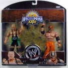 WWE Jakks Wrestlemania 24 Exclusive Series 2 Action Figure 2-Pack Finlay & Rey Mysterio NEW