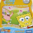 VTECH V.Smile Smartridge SpongeBob SquarePants Spanish Game ( Un Dia en la vida de una esponja ) NEW