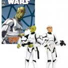 Star Wars Action Figures Comic Pack Expanded Universe  Mouse And Basso in Stormtrooper Disguise