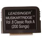 Leadsinger LS-3C08 Classic Rock A Cartridge for LS-3000 Series Karaoke System (200 Songs) NEW