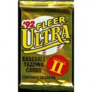 1992 Fleer Ultra Series II Baseball Trading Cards Unopened Hobby Pack (14 cards per pack) NEW