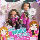 MGA Entertainment Bratz World Familiez Yasmin and Her Mother Portia Dolls NEW Toy