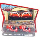 DISNEY PIXAR CARS Movie World Of Cars Movie Moments 2 Pack Mia & Tia RED WOC NEW
