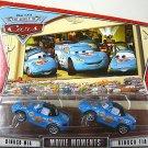 DISNEY PIXAR CARS Movie World Of Cars Movie Moments 2 Pack Mia & Tia BLUE WOC NEW