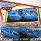 DISNEY PIXAR CARS Movie World Of Cars Movie Moments 2 Pack Mr. & Mrs. King WOC NEW