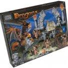 Mega Bloks 9881 Dragons Battle Gate Construction Blocks NEW