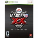 Electronic Arts Madden NFL 09 20th Anniversary Collectors Edition for Microsoft Xbox 360 NEW