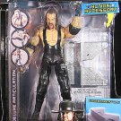 WWE Wrestling DELUXE Aggression Best of 2008 Action Figure Undertaker with Denting Steel Stairs NEW