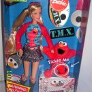 Mattel Barbie Loves TMX Elmo Doll with Mini Tickle Me Elmo TMX ( Caucasian Version ) Sesame Street