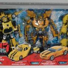Hasbro Transformers Walmart Exclusive 3-Pack Legacy of Bumblebee ( Classic, Movie and Animated )