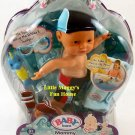 "MGA Entertainment Baby Born Mommy, Look I Can Swim! 13"" Doll, Baby Boy New"