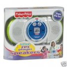 FISHER PRICE KID TOUGH FP3 PLAYER SPEAKERS NEW
