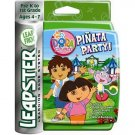 LeapFrog Leapster Learning Game System Cartridge of DORA THE EXPLORER PINATA PARTY! NEW