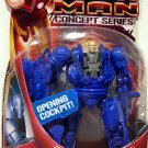 Hasbro Marvel Iron Man Movie Action Figure  Blue Iron Monger Open Cockpit Concept Series New