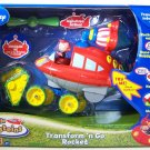 Fisher Price Little Einsteins Toy Playset Transform N' Go Rocket and Figures New