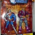 Mattel DC Universe Classics Exclusive Action Figure 2 Pack Cyborg Superman and Mongul NEW