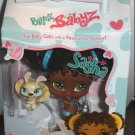MGA Entertainment Bratz Babyz & Bratz Petz: 5 inch Sasha with yellow rabbit in milk carton NEW Toy