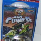 Hot Wheels Monster Jam Raw Power DVD Pack - with Grave Digger Truck VEHICLE INCLUDED New