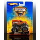 Mattel Hot Wheels Monster Jam BACKDRAFT #22/70 Truck Scale 1:64 NEW