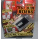 Electronic Test Tube Aliens TAKON Evil Alien #2 Hatch! Feed! Grow! Web Interactive NEW