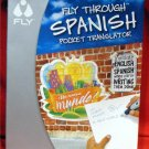 LeapFrog Enterprises FLY Pentop FLYware FLY Through SPANISH Pocket Translator NEW